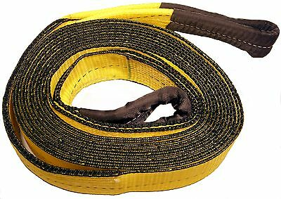 """3""""X30FT Recovery Strap-30,000 LB Capacity Tow Rope Towing Pulling Truck ATV #TS8"""
