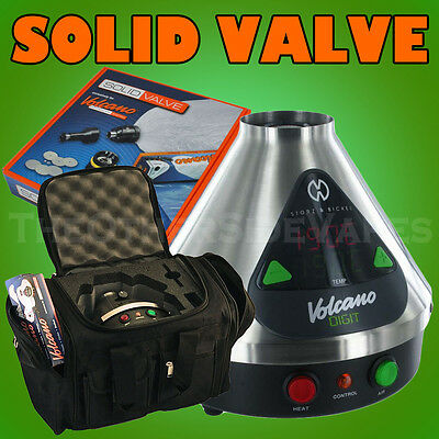 VOLCANO DIGIT Vaporizer - SOLID Valve + FREE Padded Storage Bag + FREE SHIPPING