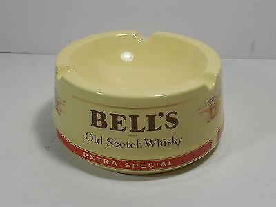 Bell's Bells Finest Scotch Whisky Ceramic Ashtray Old Extra Special