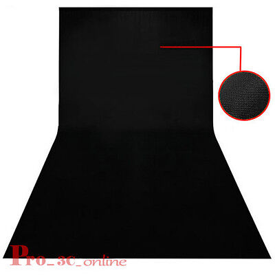 10x20ft 3.2x6m Studio Black Screen Background Backdrop Photography Fast Shipping