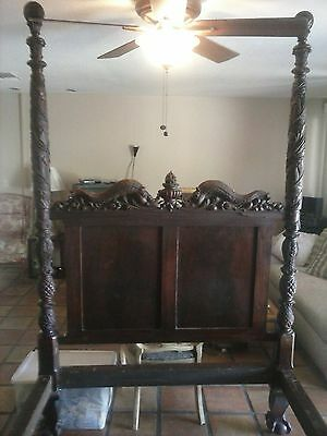Late 1800's antique bed