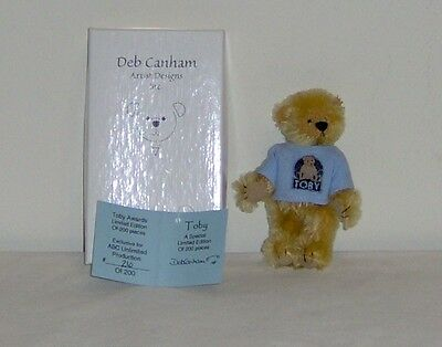 """deb canham - Toby Awards Limited Edition """"Toby"""""""