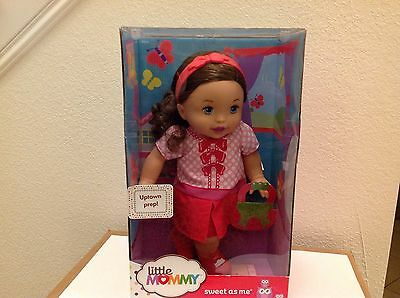 "Little Mommy Sweet As Me Uptown Prep 14"" Doll New"