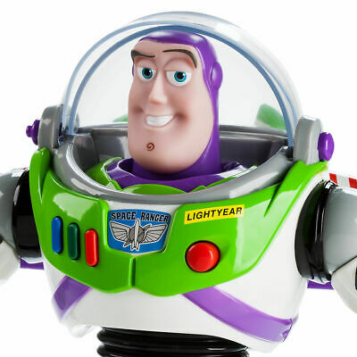 BUZZ LIGHTYEAR LARGE TALKING ACTION FIGURE 30cm - Disney TOY STORY 3  LIGHT YEAR