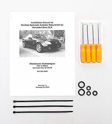 97-04 Mercedes SLK 230 Hydraulic Cylinder Repair Kit with Picks Convertible R170