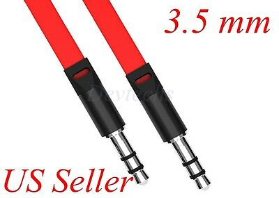 For Car Phone iPod 3.5mm AUX AUXILIARY Cord Male to Male Stereo Audio Cable