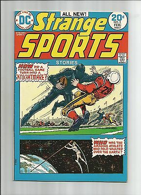 Strange Sports Stories #3 High Grade (9.2) Dc
