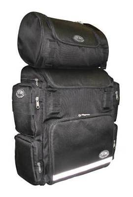TM Motorcycle Luggage Weekender With Roll Bag Combo