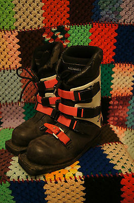 MERRELL Super Comp 75mm 3 Pin Telemark Ski Boot Men's Size 7.5 - Made in Italy