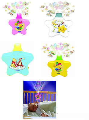 Tomy Starlight Dreamshow musical cot lightshow night light projector mobile toy