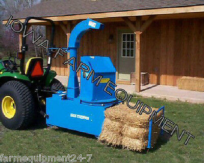 Harper Goossen SB5400P Tractor PTO Powered Top Feed Straw Blower w/Spout & Hose!