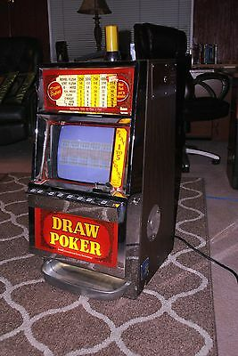 IGT Quarter Video Poker Slot machine  AS-IS