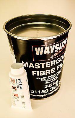 FIBREGLASS BRIDGING BODY FILLER CAR REPAIR LARGE 3.5kg