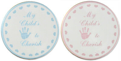 Child to Cherish Child's Handprint Tin Plaster Hand Print Kit Pink Blue - 159651