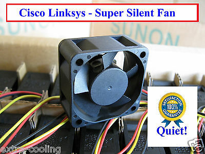 Quiet Cisco Linksys SRW2024 Fan, Guaranteed Quite! or your money back