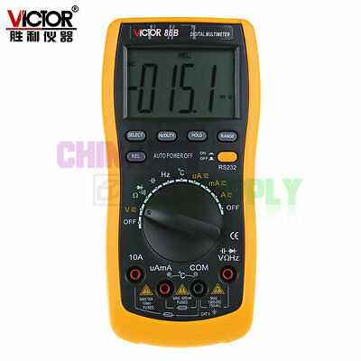Victor Resistance Thermo Frequence Capacitance R/C Multimeter With PC Interface