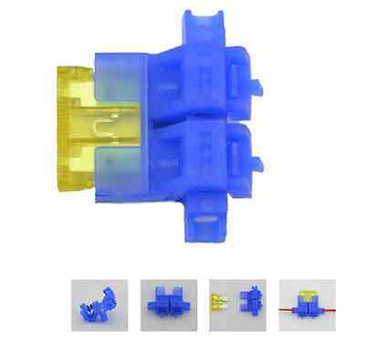Whip Automotive Fuse Holder Installation Insurance + 1PCS 20A Fuse NEW Arrival