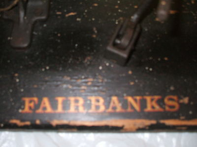 Fairbanks Scale-Table Top Beam Scale,Solid Brass Beam & Adjustment Weight-Nice
