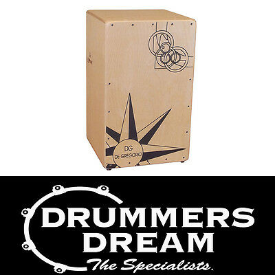 Brand New DG CIGANO CAJON RRP$579 ON SALE  De Gregorio percussion drum box