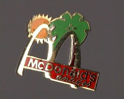 Pin's Mac Donald's / restaurant d'Antibes (Mc Donald's - EGF)