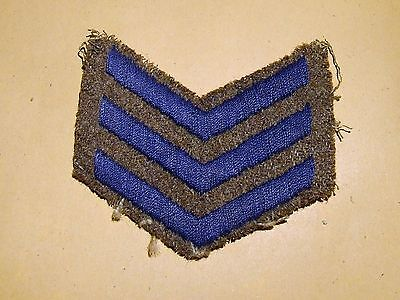 Original WW1 British Army Overseas Service Stripes - 3 years
