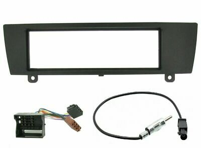 Stereo Cd Radio Fascia Facia Surround Plate Fitting Kit Fits Bmw 1 Series E87