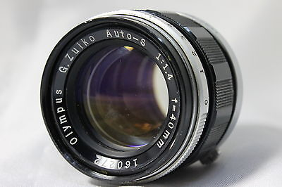 Olympus G.Zuiko Auto-S f1.4 40mm Lens For PEN from Japan