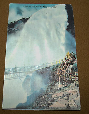Cave of the Winds American Falls Niagara Colourpicture Postcard