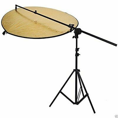 HWASTUDIO ® KIT Photography Collapsible Disc+ Reflector 5 in1+STAND boom arm