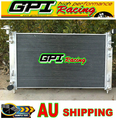 Aluminum Radiator HOLDEN COMMODORE VT (SERIES 1 AND 2) VX V6 AT/MT 2 Oil Cooler