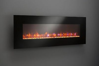 """60"""" W/MOUNT LINEAR ELECTRIC FIREPLACE; 1500 WT; SAFE CUTOFF; REMOTE; LED, CSA/UL"""