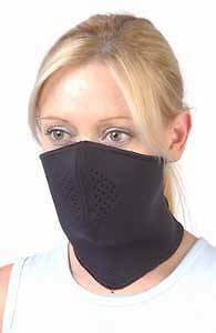 Rjays Style Neoprene 1/2 Face Mask Black Suit All Motorcycle Riders