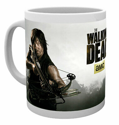 The Walking Dead - Ceramic Coffee Mug / Cup (Daryl Dixon: Shoot Me Again...)