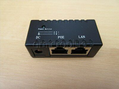 Passive POE injector 5-48V 1A Power Supply module for AP IP Camera/phone Type2