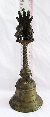 HIGH QUALITY 19th.c Bronze Buddhist Temple Bell... Beautiful Tone