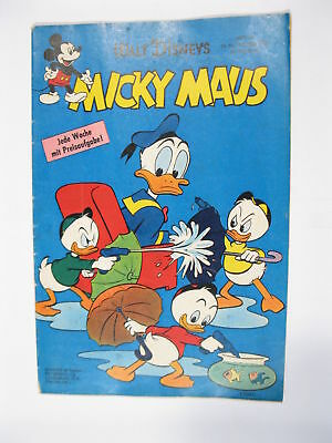 Micky Maus 1960/47  Originalheft vom 19.11.60  in Z (2) 55275