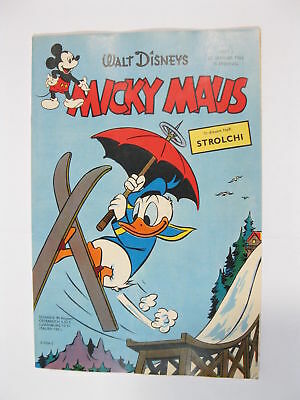 Micky Maus 1962/ 3  Originalheft vom 20.1.62  in Z (1 oS) 53920