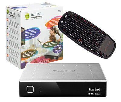 TizzBird F20 Full HD 4g Media Player 1GHz Android 300Mbit Incluido. 1 TB HDD