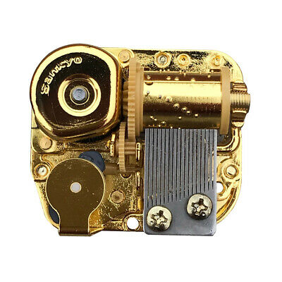 Golden Sankyo Musical Movement for DIY Music Boxes With Over 40 Melodies Choice