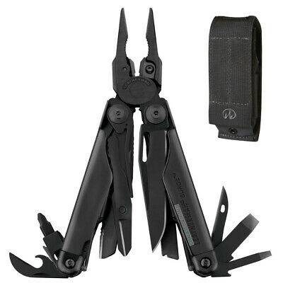 Leatherman Black SURGE Multi-Tool Multi Tool & Molle Sheath *AUTH AUS DEALER*