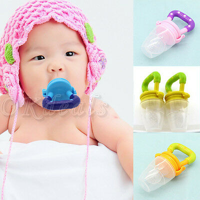 Hot Baby Pacifiers feeding Fresh Food Baby Supplies Nibbler Feeder Feeding Tool