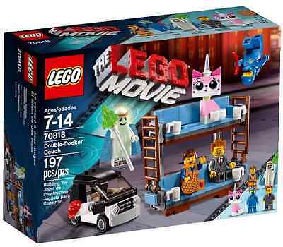 NEW EXCLUSIVE LEGO MOVIE 70818 DOUBLE-DECKER COUCH, Pre-Order, Ship Jan 2, 2015