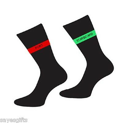 Pair of Port and Starboard Stripe Socks