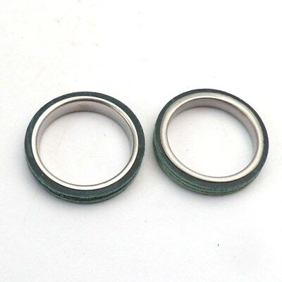 2X Muffler Exhaust Gasket Ring Gy6 4 Stroke Engine Chinese Scooter Taotao Baja