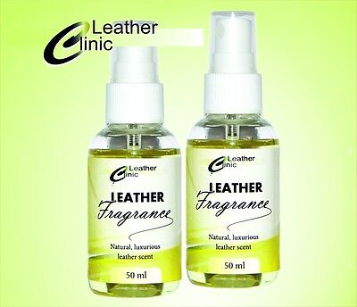 Leather Fragrance  SPRAY 50 ml, Natural, luxurious leather scent, aroma
