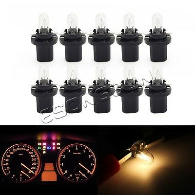 10x Instrument Cluster Metric Speedometer OEM 1.2W Bulbs Lights For BMW E30