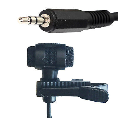 STEREO MICROPHONE INLINE 3.5mm JACK PLUG IN POWER PIP 1.5v BATTERY PREAMP MODULE