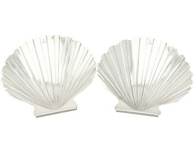 Antique, Sterling Silver Butter Shells/Dishes, George III - 1800-1849
