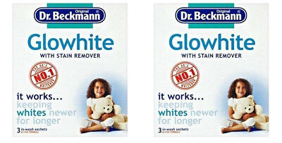 DR. BECKMANN GLOWHITE FOR INTENSIVE WHITENING FROM 20'C 2 x 3 x 40g SACHETS