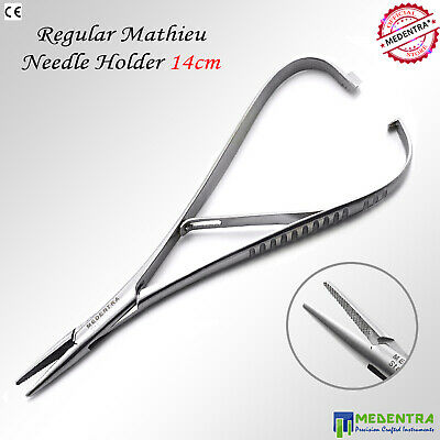 Mathieu Slim Line Needle Holder Forceps Narrow Tip Ligating Pliers Orthodontic